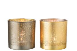 Waxinelichthouder Spikkel – Set van 2