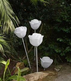 Rose Outdoor Lamp