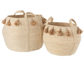 Basket Set natural (Set of 2) - Pre Order - available from 22nd of February 2021