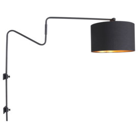 Wall Lamp Linstrøm in Black - Gold