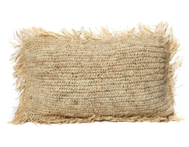 Cushion Raffia Rectangular