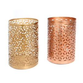 Candle Holder Zigzag – Set of 2