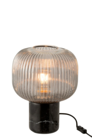 Table lamp Yufo in Gray - Low and High model
