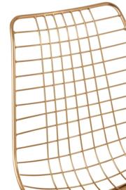 Wire Stoel in Goudkleur (Set van 2) - Vanaf 25-10-2021