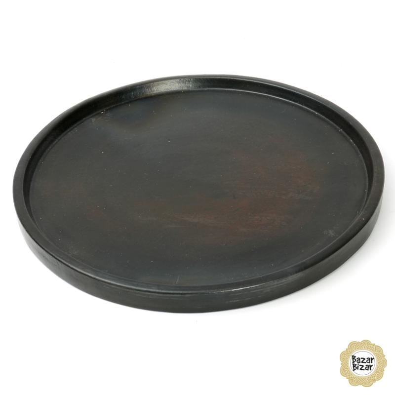 Plate Burned