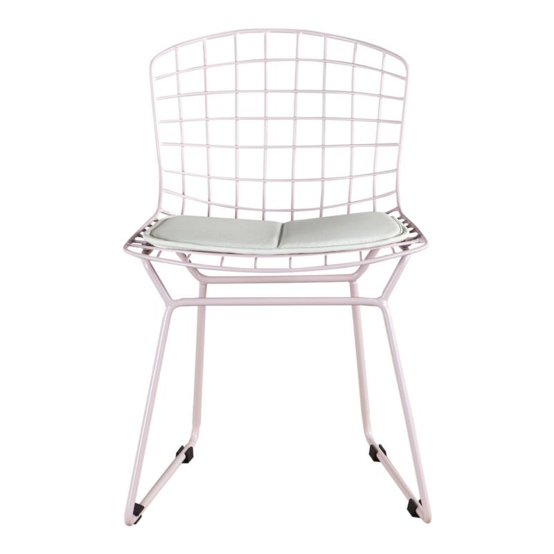 Kinderstoel in Bertoia Style