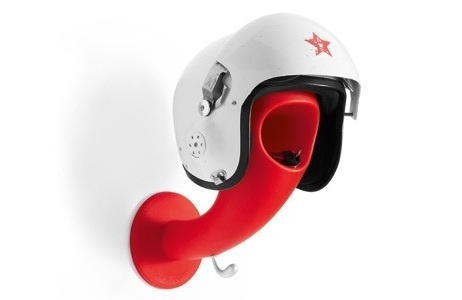 Crazy Head Helmet Holder