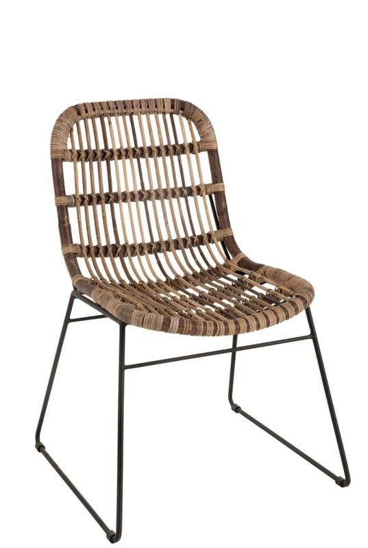 Rotan Stoel Billie (Set van 2 stoelen)