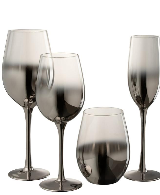 Glazen Zilver/Transparant – Vanaf 4-10-2021