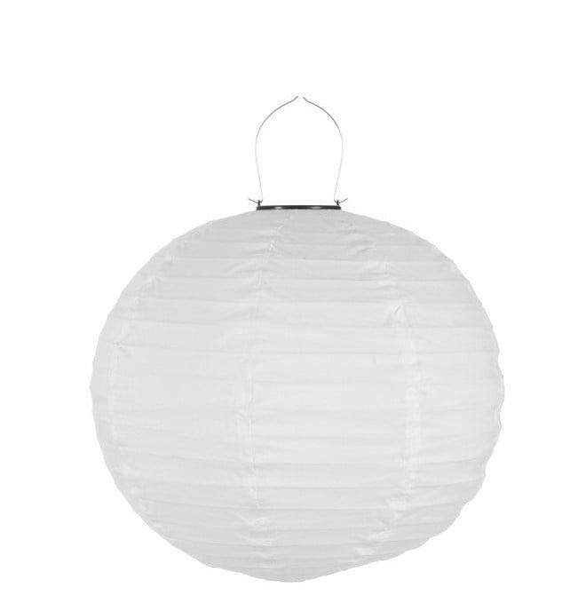 Lampion Led – Wit 41 X 41 X 41 cm - Katoen