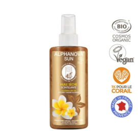 Alphanova SUN Glittering Dry Oil Spray 125ml