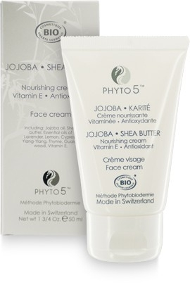 Jojoba Sheabutter Cream Bio 50 ml