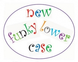 FMM CUTFUNKLC Funky Alphabet Tappits Lower Case