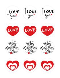 Liefde/Valentijn  cupcake 2