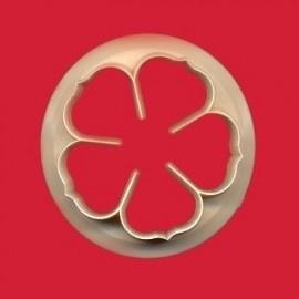 FMM CUTROP40 5 petal rose cutter 40mm
