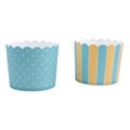 337114 Städter baking cups turquoise-geel maxi
