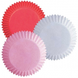 Wilton 415-0319 Assorted Red, White and Pink Baking Cups
