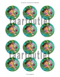 Dora 3 cupcake