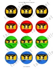 Lego cupcake 1
