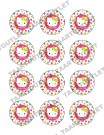Hello Kitty 5 cupcake