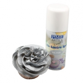 PME LS699 Silver Edible Lustre Spray 100ml