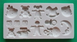 AM0058 ABC baby mould