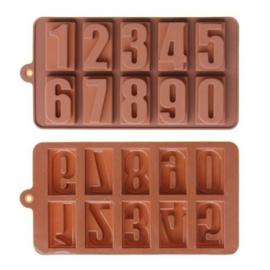 chocolate mold cijfers