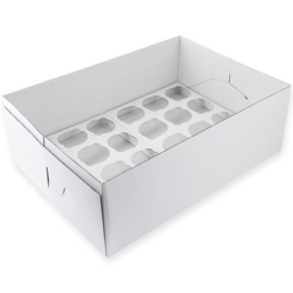 PME CBO908 Cupcake Box 24 - 14cm hoog