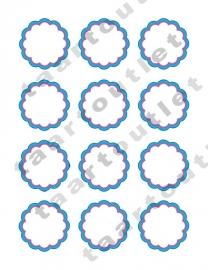 Cupcake cirkels 2