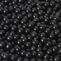 Parels zwart  7mm