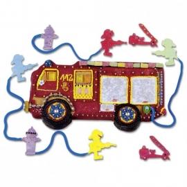 610088 Städter bakvorm Brandweerwagen