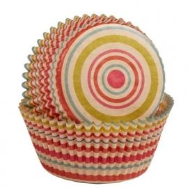 Wilton 514-2132 Baking Cups Unbleached Stripe pk/75