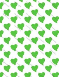 Hartjes groen