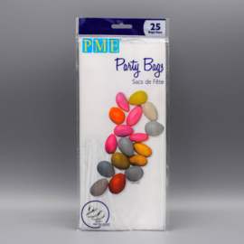 PME BP500 Party Bags with Silver Ties Pk25