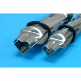 PME HS343 Heart Shaper Plain Crimper 1/2in & 3/4in