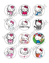 Hello Kitty 4 cupcake