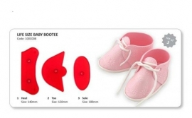 JEM 100C008 Life Size Baby Bootee