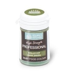 SK CL01A230-27 Professional Food Colour Dust HOLLY/IVY DK GREEN