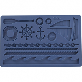 Wilton 409-7726 Fondant & Gum Paste Mold Nautical