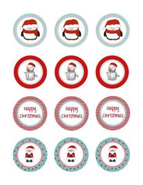 kerst cupcake 13