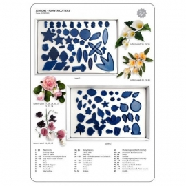 JEM 103FF001 Flower Cutters/ Basic Set of 85