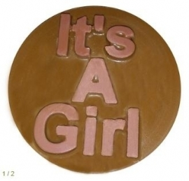 CK 90-16117 Chocolate Cookie Mold IT`S A GIRL