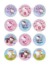 Hello Kitty 8 cupcake