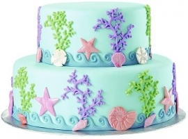 Wilton 409-2552 Sea Life Fondant and Gum Paste Mold
