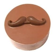 CK 90-161261 Chocolate Cookie Mold Mustache