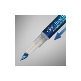 RD Paint It! Click-Twist Brush metallic royal blue