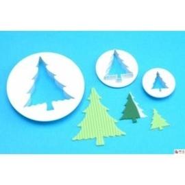 PME CT478 Christmas Tree cutter set van 3