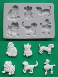 AM0065 Mold Dogs 2 (honden 2)