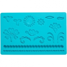 Wilton 409-2529 Fondant & Gum Paste Mold Damask