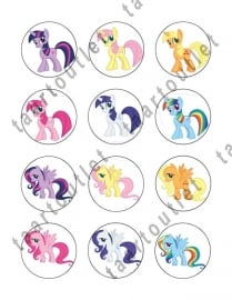 My Little Pony cupcake 7